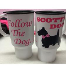 Follow The Dog Travel Mug