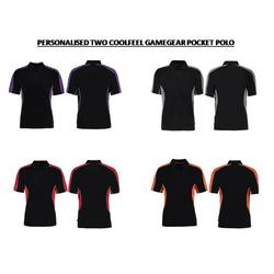 2 Colour Personalised Gamegear POCKET Polo